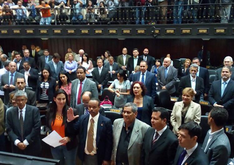 Diputados del GPP se retiron de la Asamblea Nacional