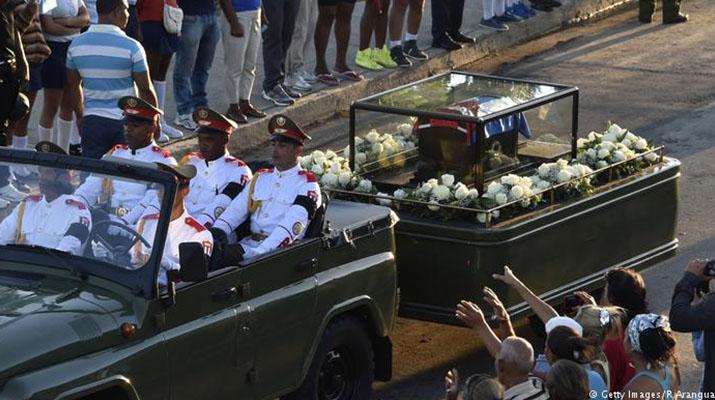 Fidel Castro fue  enterrado en Santiago de Cuba