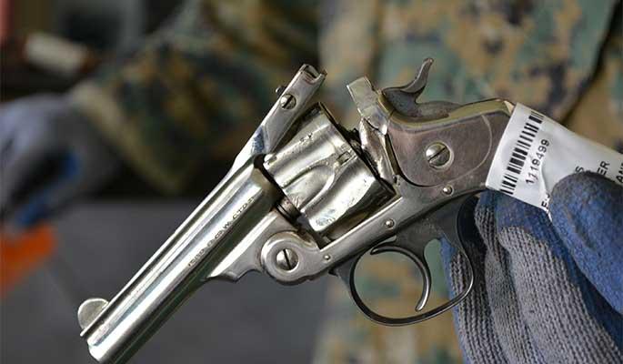 Más de 29 mil armas de fuego fueron inutilizadas en lo que va de año