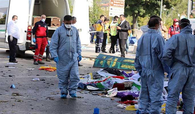 Ascendió a 38 el saldo de fallecidos tras golpe terrorista en Turquía