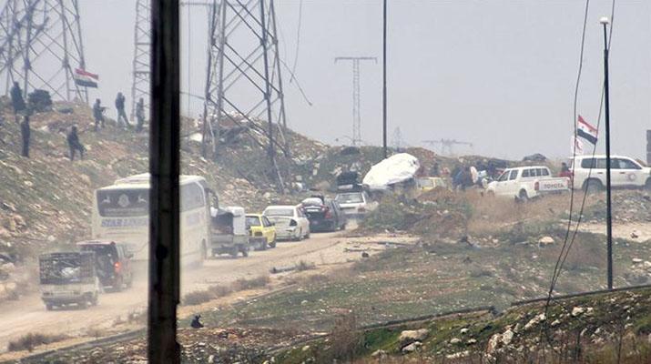 Empezó la evacuación de los pueblos chiíes  asediados por rebeldes en Siria