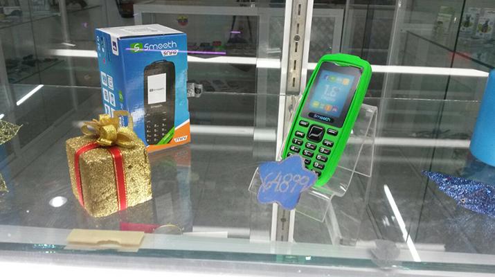 No hay capacidad para  reponer inventario de  teléfonos celulares