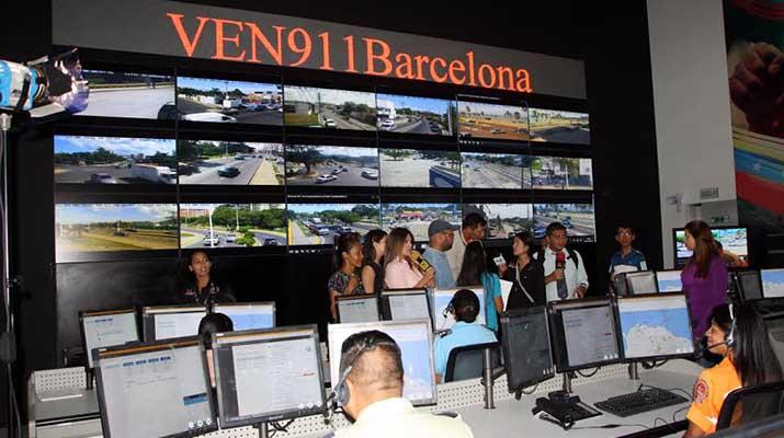 Inauguraron Centro de Monitoreo VEN 911 en Anzoátegui