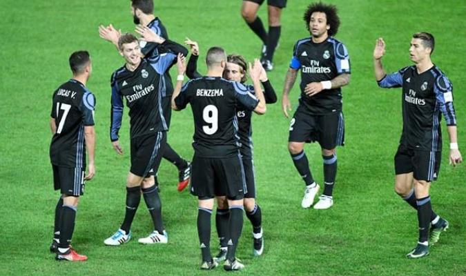 Real Madrid a un paso del mundialito