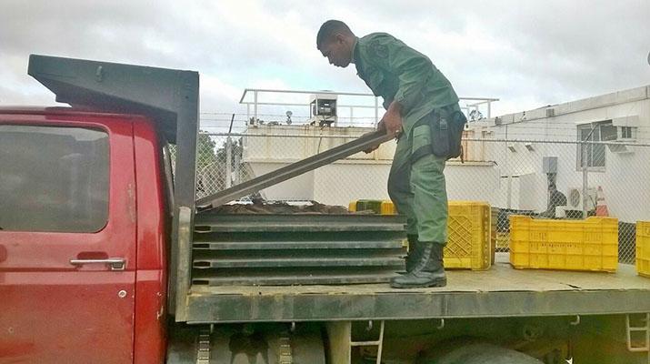 Unidad Especial de la GNB capturó a tres ladrones de cobre