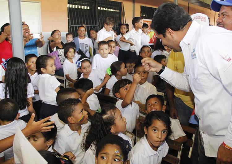 Han incorporado a más de 600 niños al plan «100 % Escolaridad»