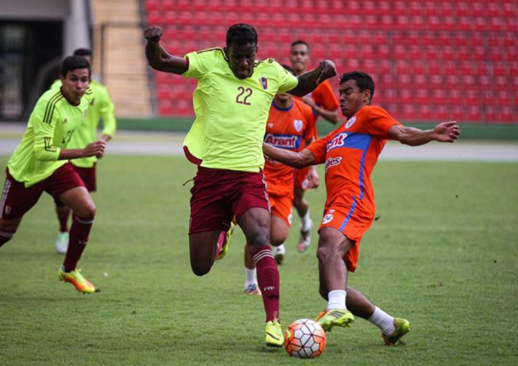 Vinotinto sub-20 culminó gira por Colombia y viajó a Quito