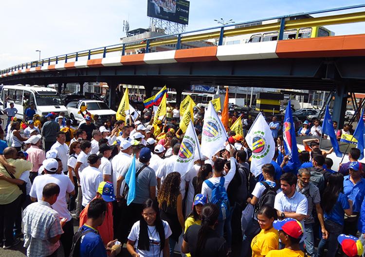 Actividades de calle comenzaron en Anzoátegui
