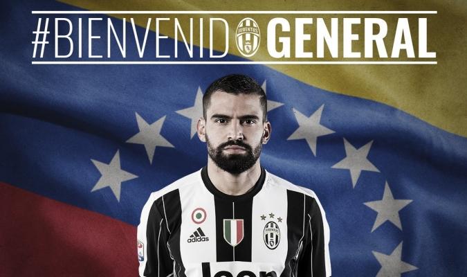 Juventus hizo oficial fichaje de Tomás Rincón