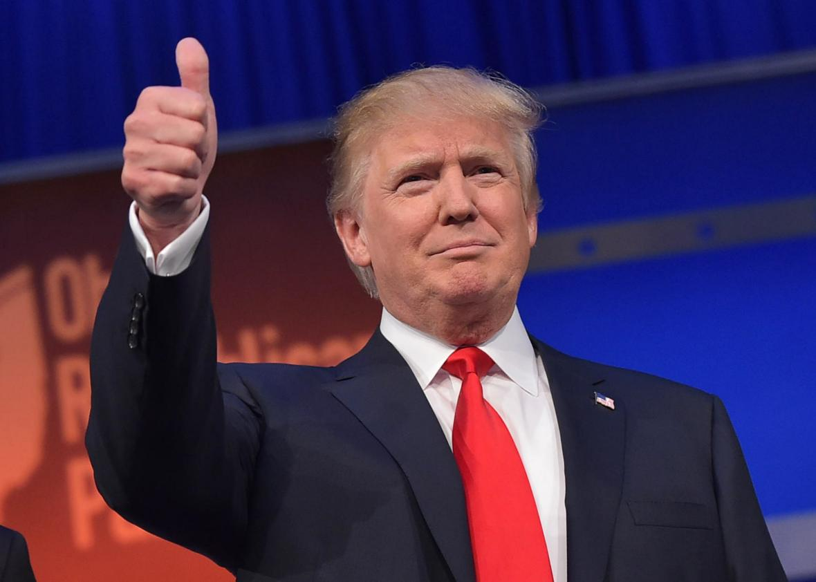 Trump tuvo su primera rueda de prensa como Presidente de Estados Unidos