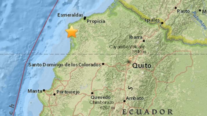 Terremoto de 5,2 grados sacudió varias regiones de Ecuador