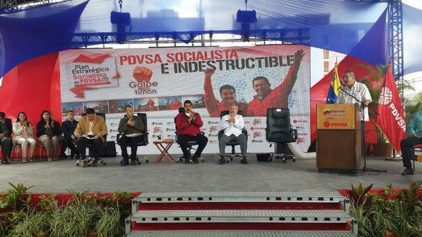 Nueva junta directiva de Pdvsa fue juramentada