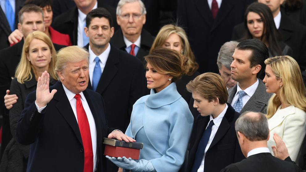 Donald Trump se convirtió oficialmente en el nuevo presidente Estados Unidos