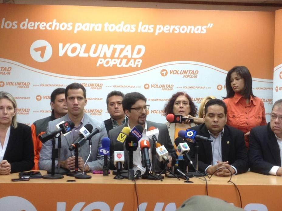 VP convocó a una movilización para el 23 de enero