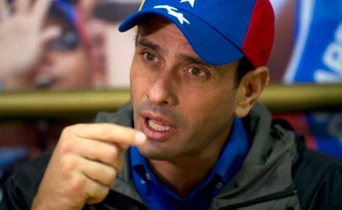 Capriles exige un cambio en la dirección de la MUD