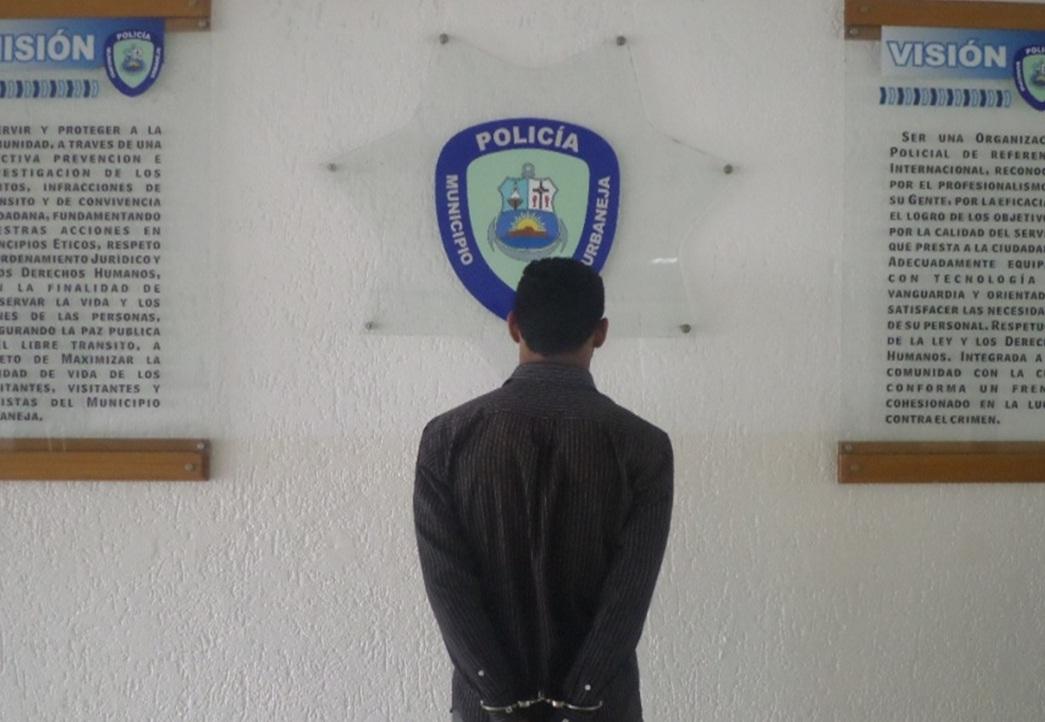 Policía de Lechería arrestó a un hombre por robo