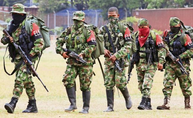 Capturaron a guerrilleros del ELN en Colombia