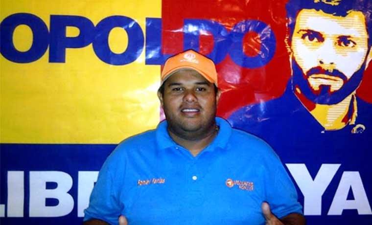 Concejal Roniel Farias fue detenido por el Sebin