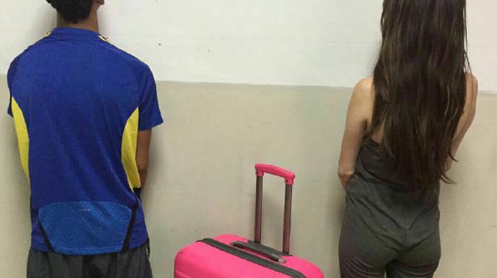 Arrestaron mujer que intentó sacar a su pareja del penal