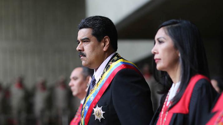 Maduro: «Estoy  ejerciendo a cabalidad mis funciones»