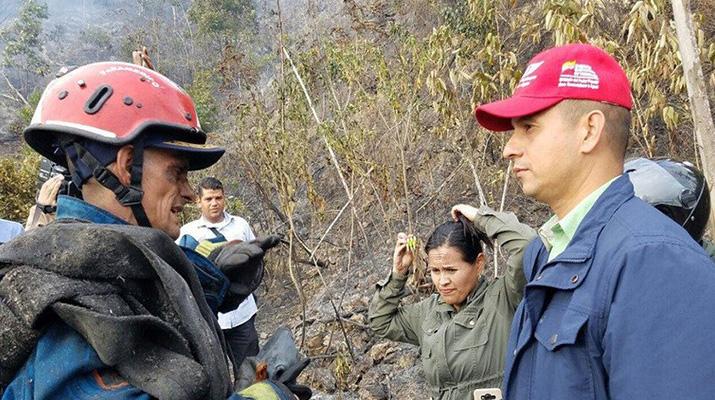 Controlaron en su totalidad incendio ocurrido en El Ávila