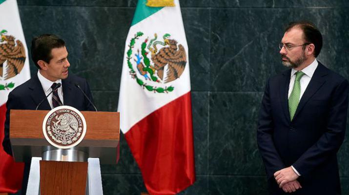 Cancilleres mexicanos irán  a  Washington esta semana