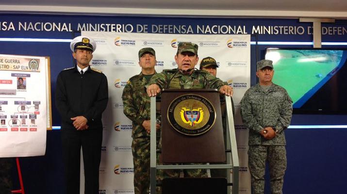 Gobierno capturó a doce  guerrilleros del ELN
