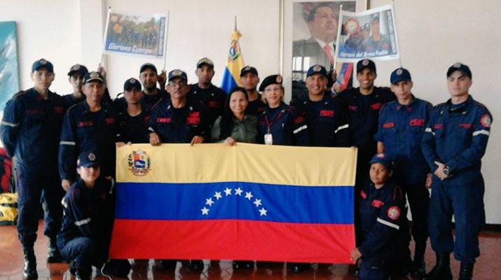 Envían brigadistas venezolanos a Chile por incendio forestal
