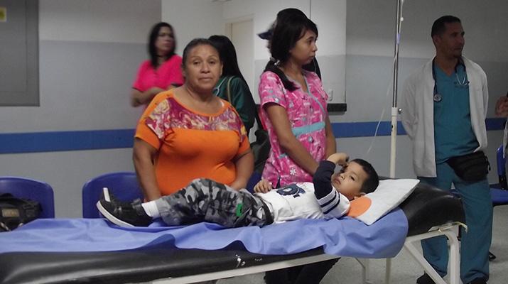 30 niños fueron atendidos por el  Instituto de la Salud