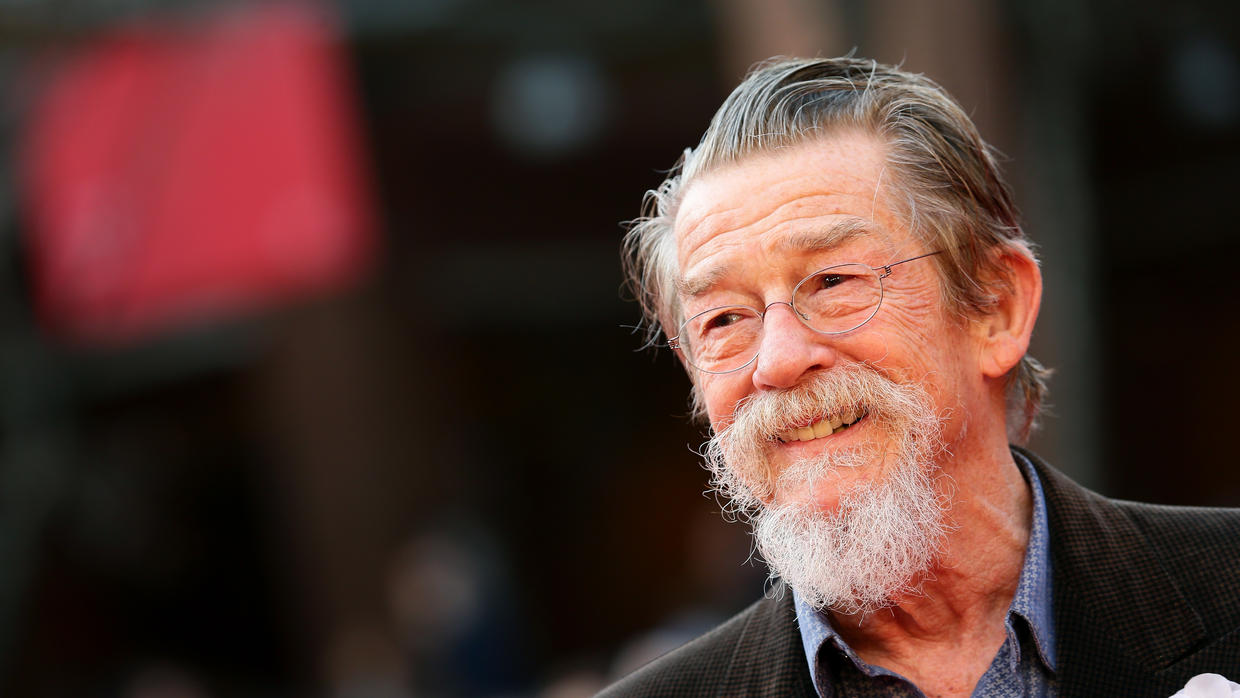 Falleció John Hurt, actor de Harry Potter