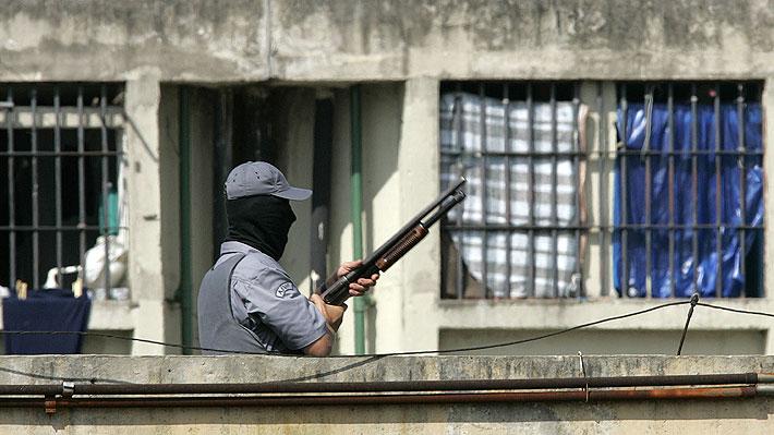 Motín en una cárcel brasileña dejó al menos 60 muertos