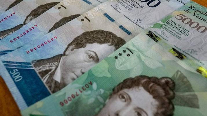 Llegaron nuevos  billetes de Bs. 10 mil