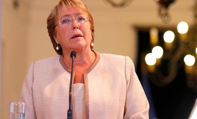 Bachelet: «Enfrentamos el mayor desastre forestal de nuestra historia»