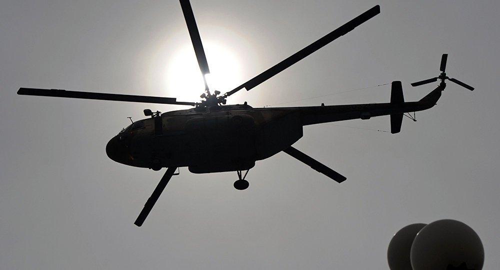 Autoridades continúan búsqueda de tripulantes de helicóptero en Amazonas
