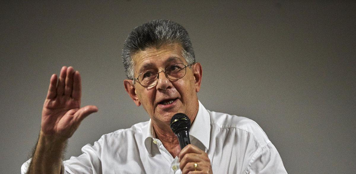 Allup: «23 de enero, una fecha de la Venezuela democrática»
