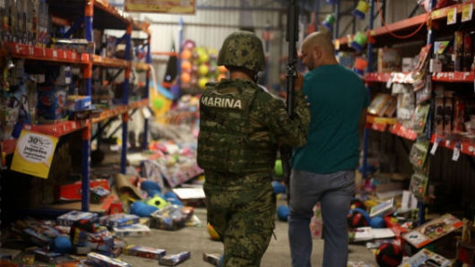 Más de 1.500 personas detenidas por disturbios en México