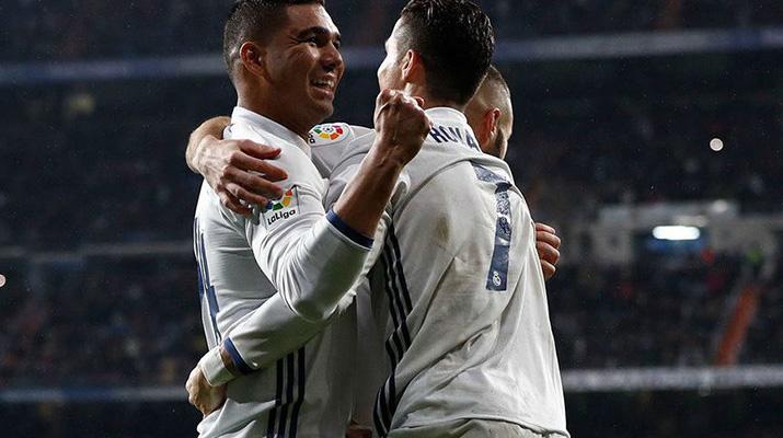 Real Madrid ganó  y se aleja en la cima