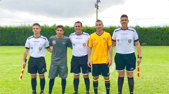 Zulia FC disputó un amistoso ante The Strongest de Farías