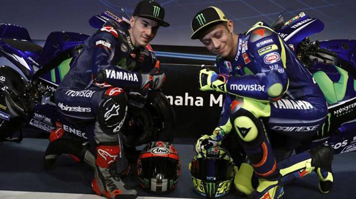 Rossi y Viñales puntas de lanza para MotoGP