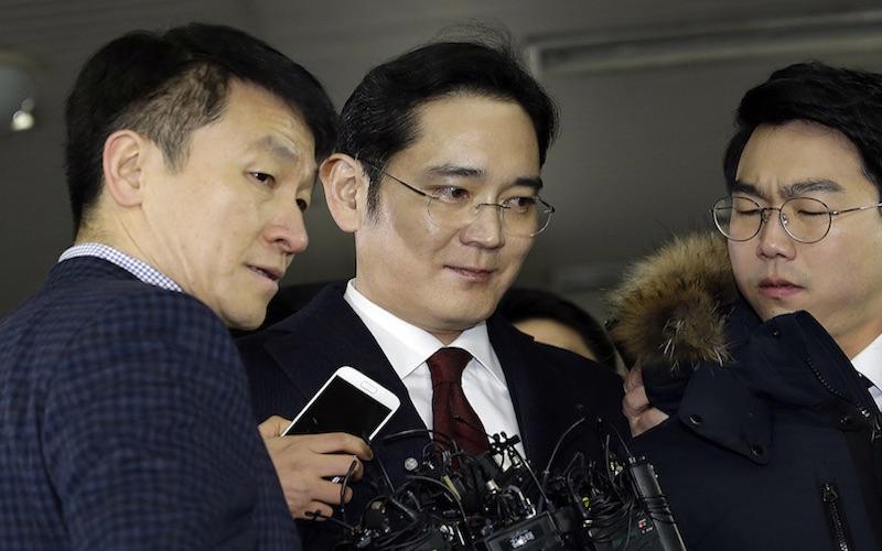 Vicepresidente de Samsung podría ser detenido