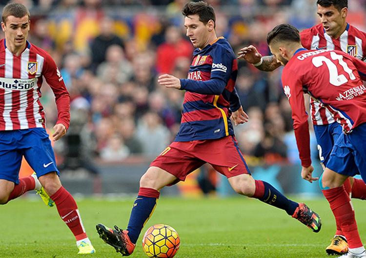 FC Barcelona pegó primero ante el Atlético