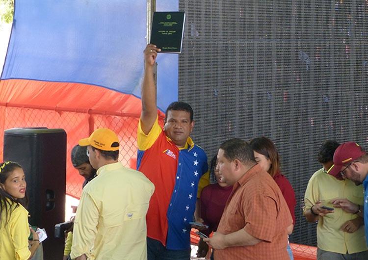 Diputados Artega y Guaipe rindieron cuenta de gestión
