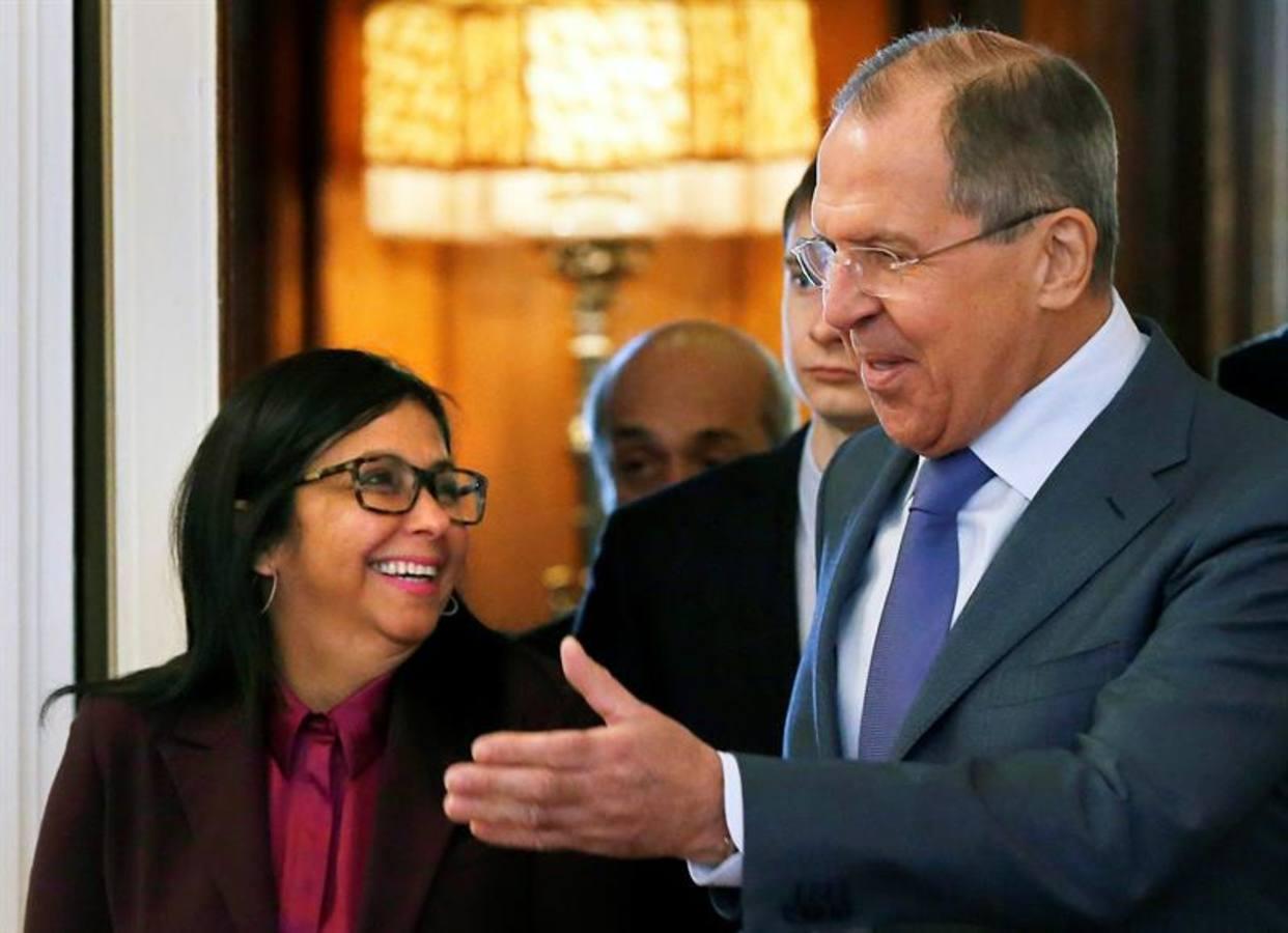 Lavrov: Relaciones entre Rusia y Venezuela están al alza