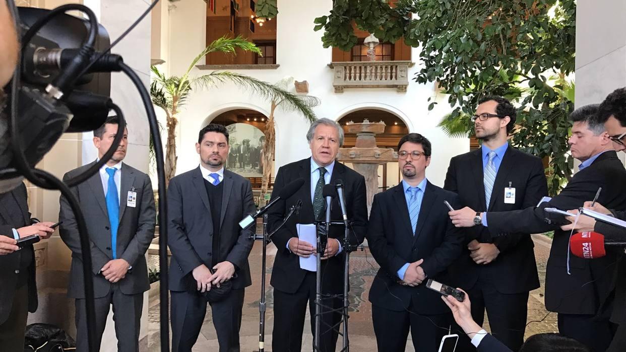 Almagro anunció que actualizará su informe sobre la crisis que vive Venezuela