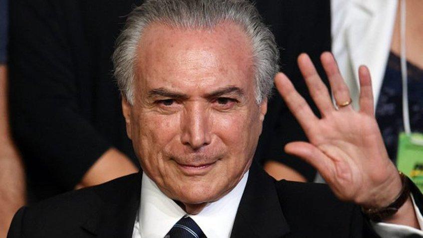 Temer envió carta a Julio Borges para expresar su preocupación por el país