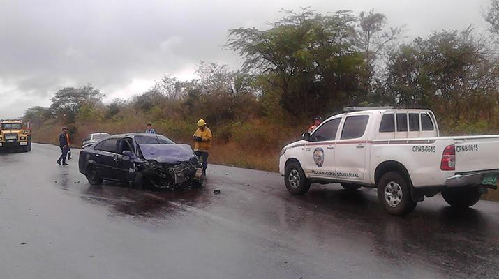Una muerta y seis lesionados dejó choque en vía Anaco – Cantaura