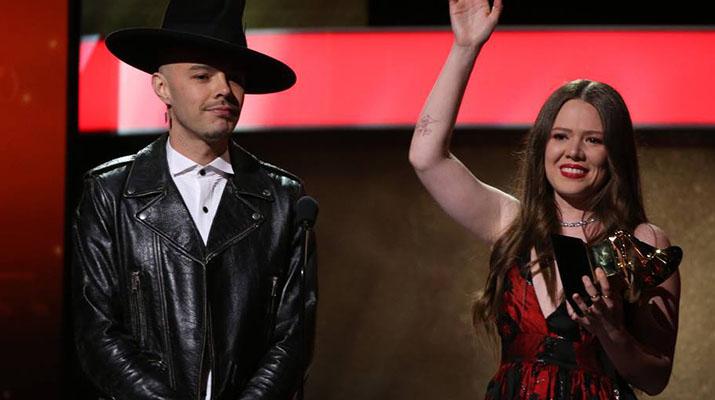 Jesse & Joy alcanzan  su primer Grammy