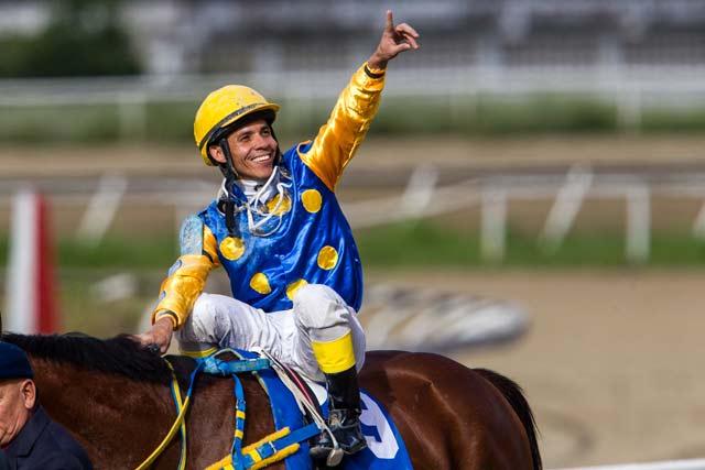 Emisael Jaramillo alcanzó las 300 victorias en EEUU