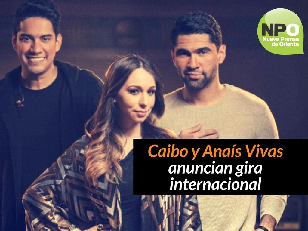 Caibo y Anaís Vivas anuncian gira internacional