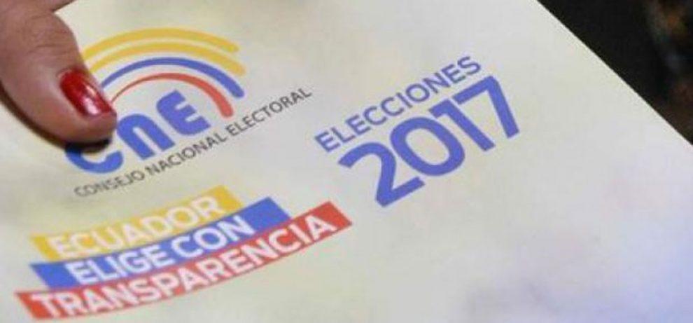 CNE llamó a los ecuatorianos a esperar los resultados con calma